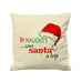 Be Naughty Save Santa A Trip   - Cushion Cover - 41 x 41 cm - Ai Printing
