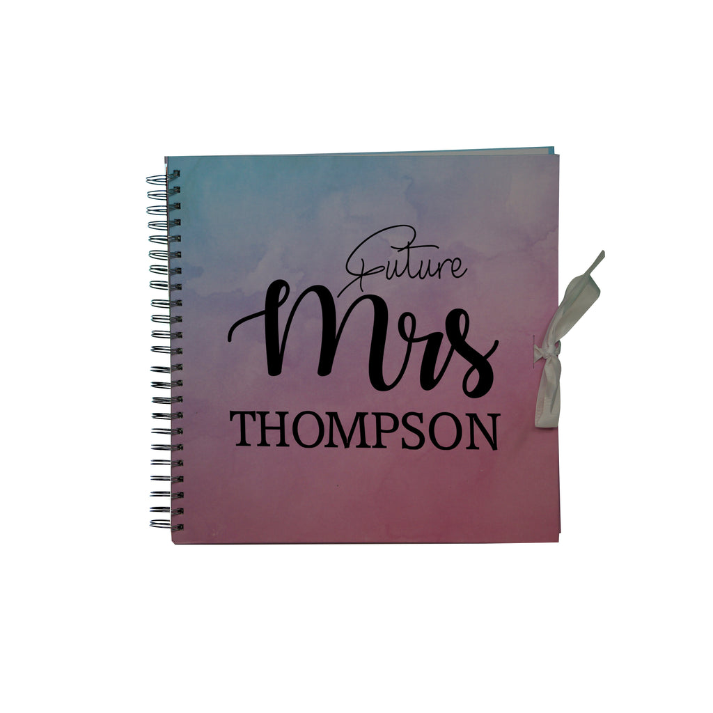 Personalised Wedding Gust Scrapbook Engagement Anniversary Book  - Scrapbook  Spiral Bound - Ai Printing