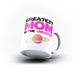 Greatest Mom in the Universe Mothers Day Mom Gift - Unique Mug - White Set - Ai Printing