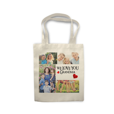 Personalised photo collage - Tote Bag - Ai Printing
