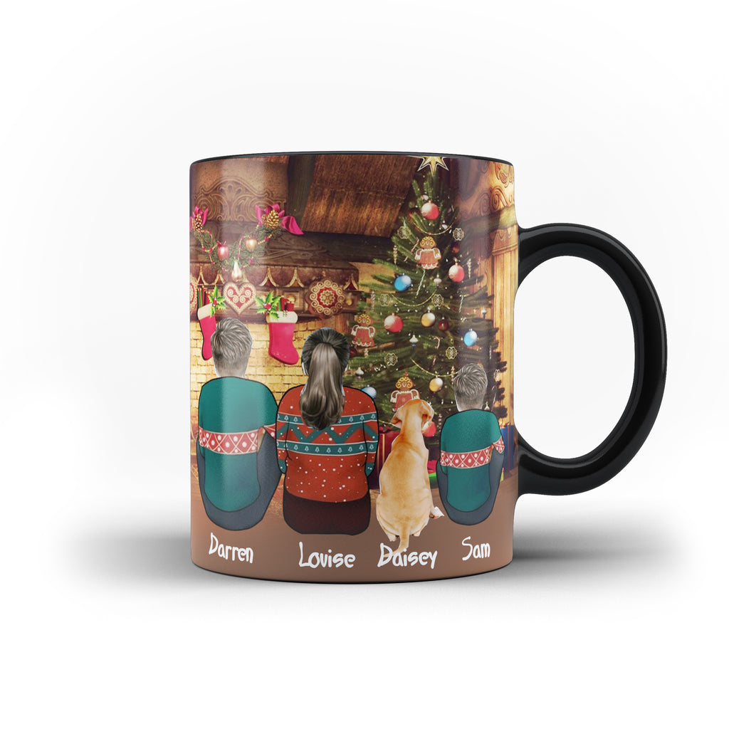 Personalised Family Best Friend Christmas Holiday Magic Mug - Ai Printing - Ai Printing