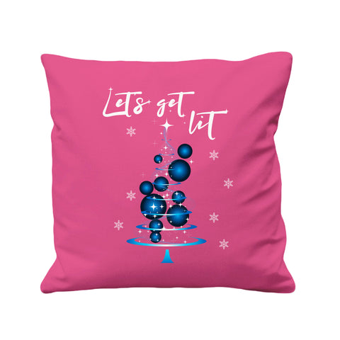 Christmas Lets get Lit - Cushion Cover - 41 x 41 cm - Ai Printing