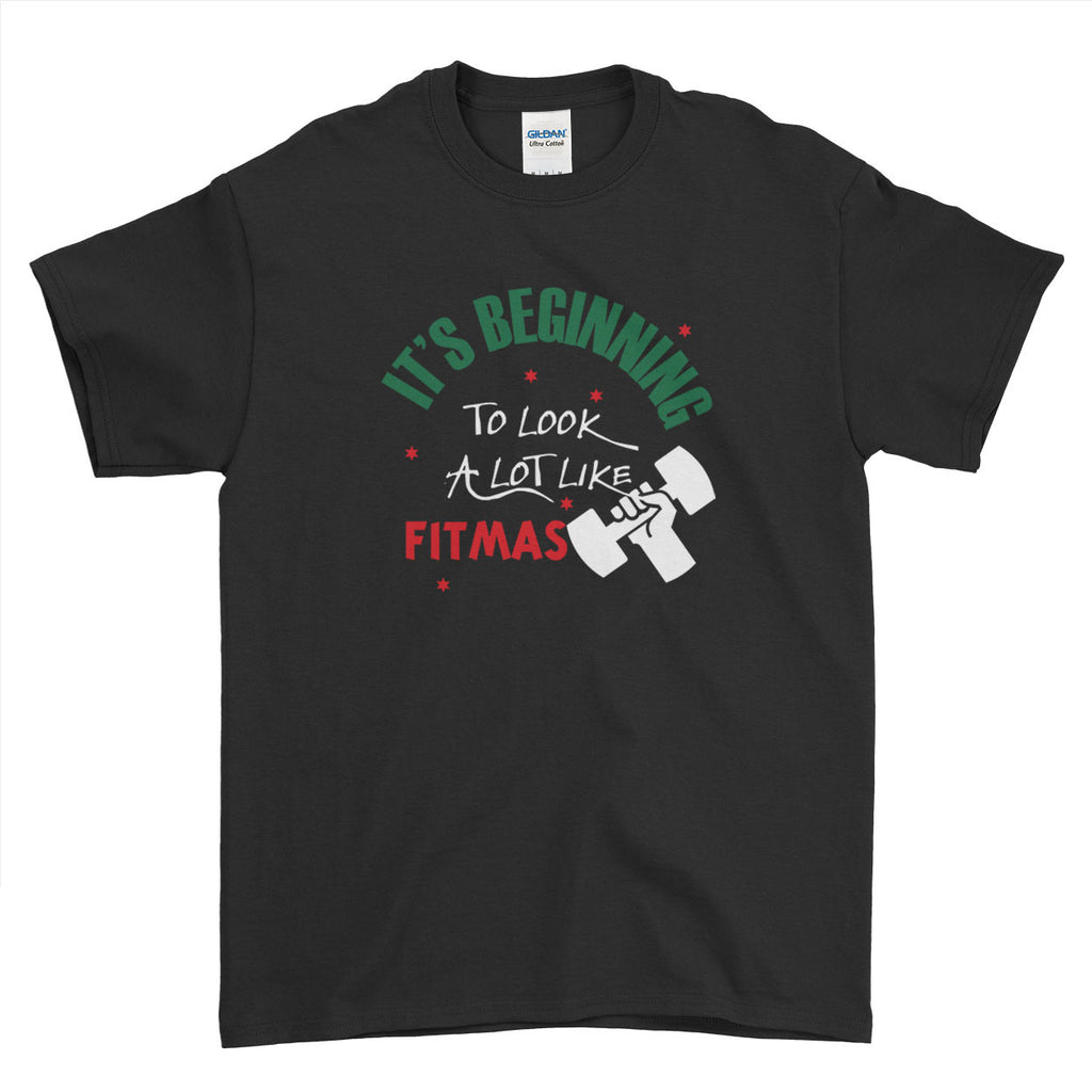 It's Beginning To Look A Lot Like Fitness Christmas - T-Shirt - Mens - Ai Printing