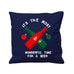 Wonderful Time For A Beer - Cushion Cover - 41 x 41 cm - Ai Printing