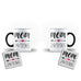 Mother's Day Mommy Best Awesome Funny Cool Gift - Unique Mug - Magic Set - Ai Printing