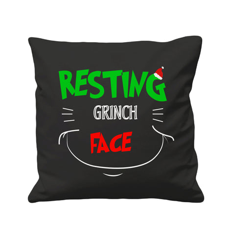 Christmas Resting Grinch Face - Cushion Cover - 41 x 41 cm - Ai Printing