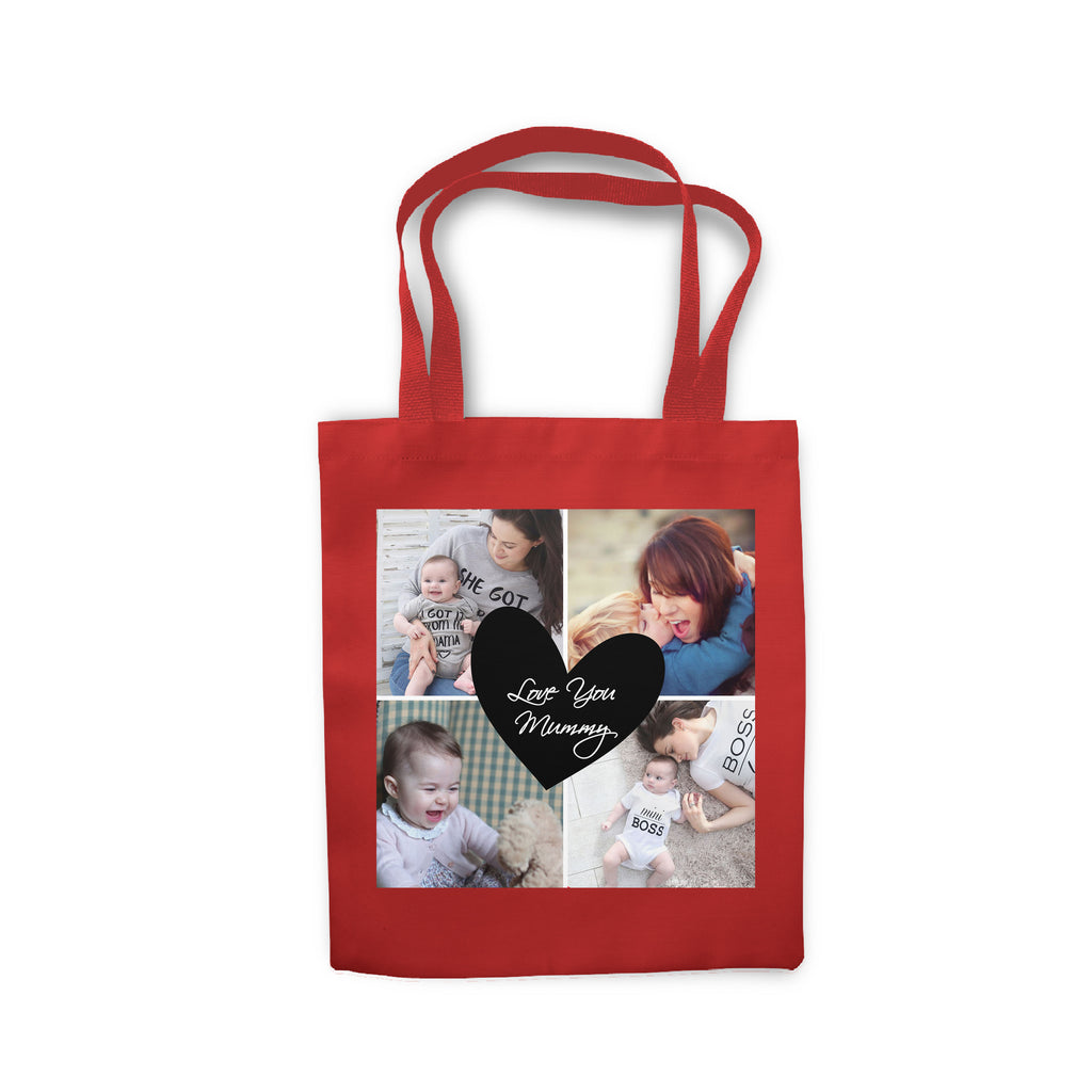 Personalised photo collage family - Tote Bag - Ai Printing
