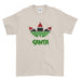 Three Stripes with Santa Christmas - T-Shirt - Mens - Ai Printing