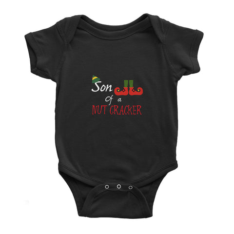 Christmas Nut Cracker - Baby Bodysuit - Ai Printing