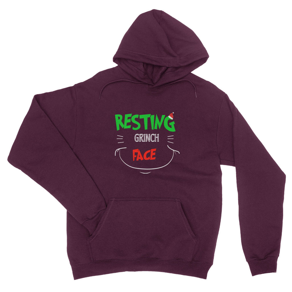 Christmas Resting Grinch Face X Mas - Hoodie - Unisex - Ai Printing
