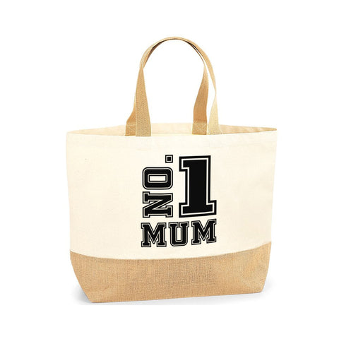 Mother's day Tote Bag for Mom Gift for Mother's Day Gifts Jute Base Canvas Bag - Tote Bag | Ai Printing - Ai Printing