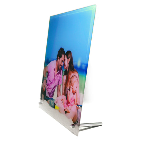 Custom Photo Glass Frame - Portrait - Ai Printing