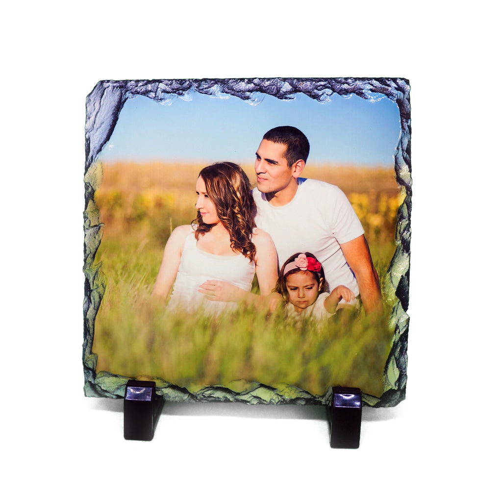 Custom Photo Slate - Square - Ai Printing