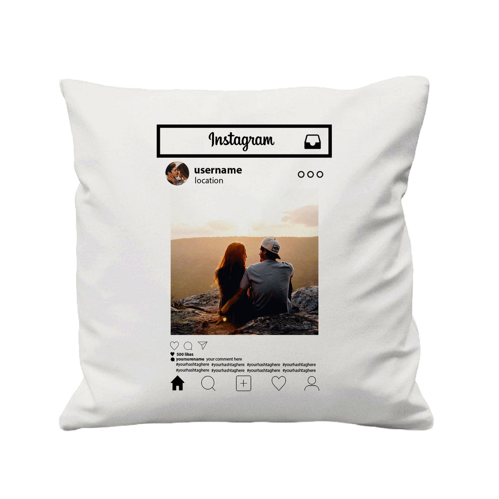 For Insta Lovers - Cushion Cover - 41 x 41 cm - Ai Printing