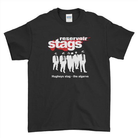 Reservoir Stage Stag Do Stag Party Night Stag Weekends - T-Shirt - Mens - Ai Printing
