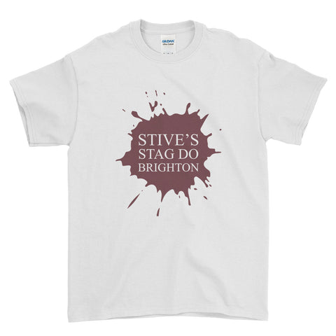 Local Stag Do Stag Party Night Stag Weekends - T-Shirt - Mens - Ai Printing