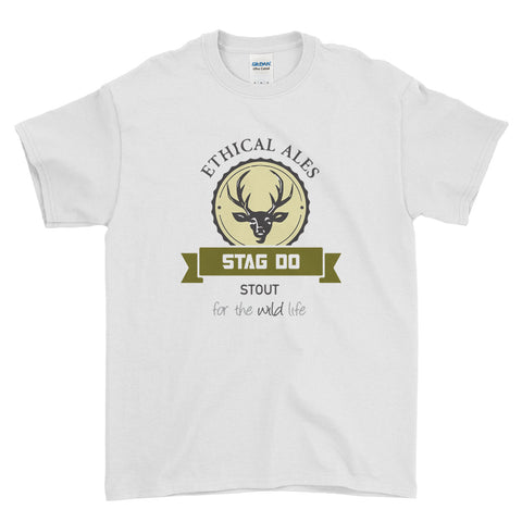 Ethical Ales Stag Do Stag Party Night Stag Weekends - T-Shirt - Mens - Ai Printing