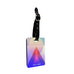 Personalised Name Passport Slim Cover Holder Luggage Tag Colorful Digital Shape - Ai Printing