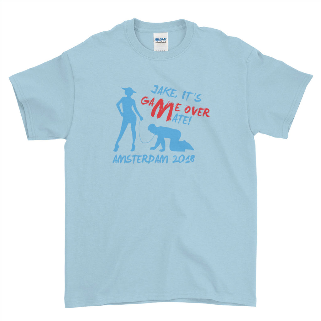 It's Game Over Mate! Stag Do Stag Party Night Stag Weekends - T-Shirt - Mens - Ai Printing