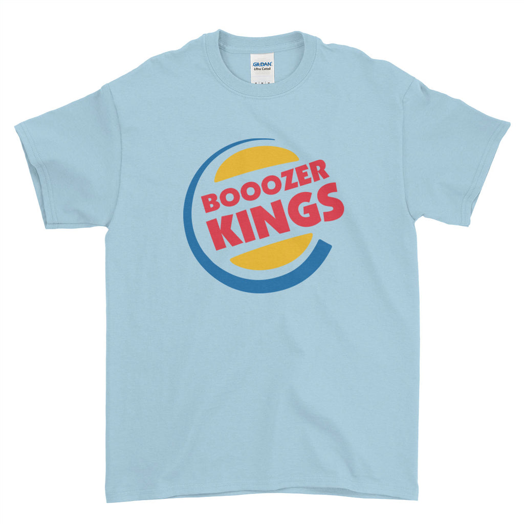 Boooozer Kings Stag Do Stag Party Night Stag Weekends - T-Shirt - Mens - Ai Printing