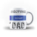 County Coolest Dad - Personalised Mug - White - Ai Printing