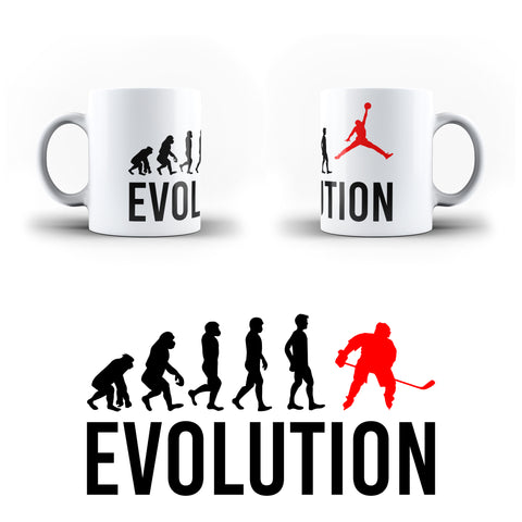 Evolution Of basketball Sports - White Magic And Inner Color Mug(mugs near me,mug website)
