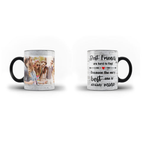 Personalised Collage Photo Mug Custom Text Best Friends Message - Personalised Mug