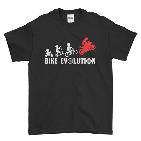 Bike Evolution Biker Motorcycle Lover - Mens T-Shirt.unq clothing,unique t shirts women's,unique shirts for mens,interesting t shirts designs,classy t shirt,t shirt)