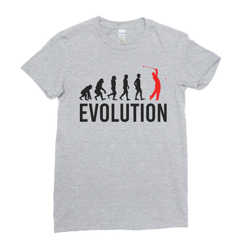 Evolution Of golf Sports - Women T-shirt(unq clothing,unique t shirts women's,unique shirts for mens,interesting t shirts designs,classy t shirt,Covid t shirt)