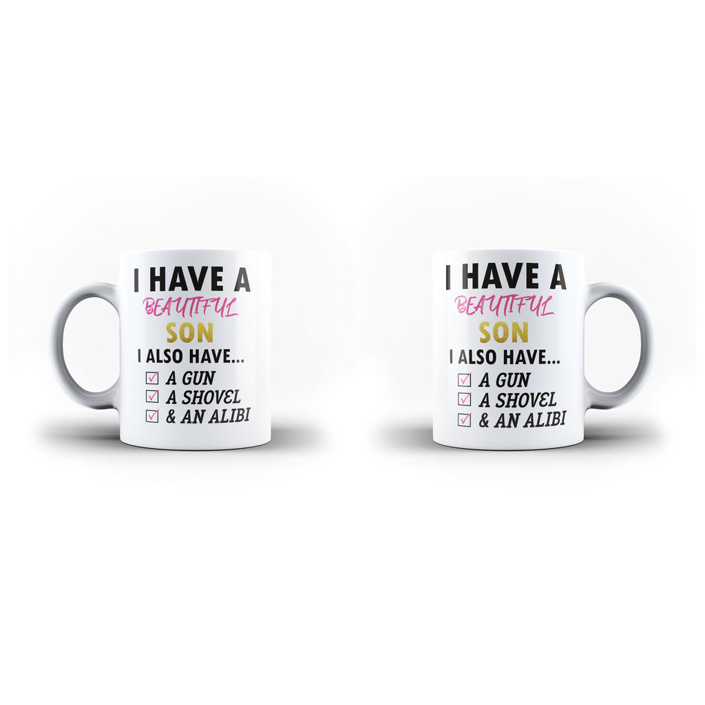 Personalised Text Fathers Day Birth day Gift- Unique Mug - White Set - Ai Printing