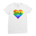 Love Is Love Be Proud LGBT Gay Pride Rainbow Funny Cool - T-shirt - Womens - Ai Printing