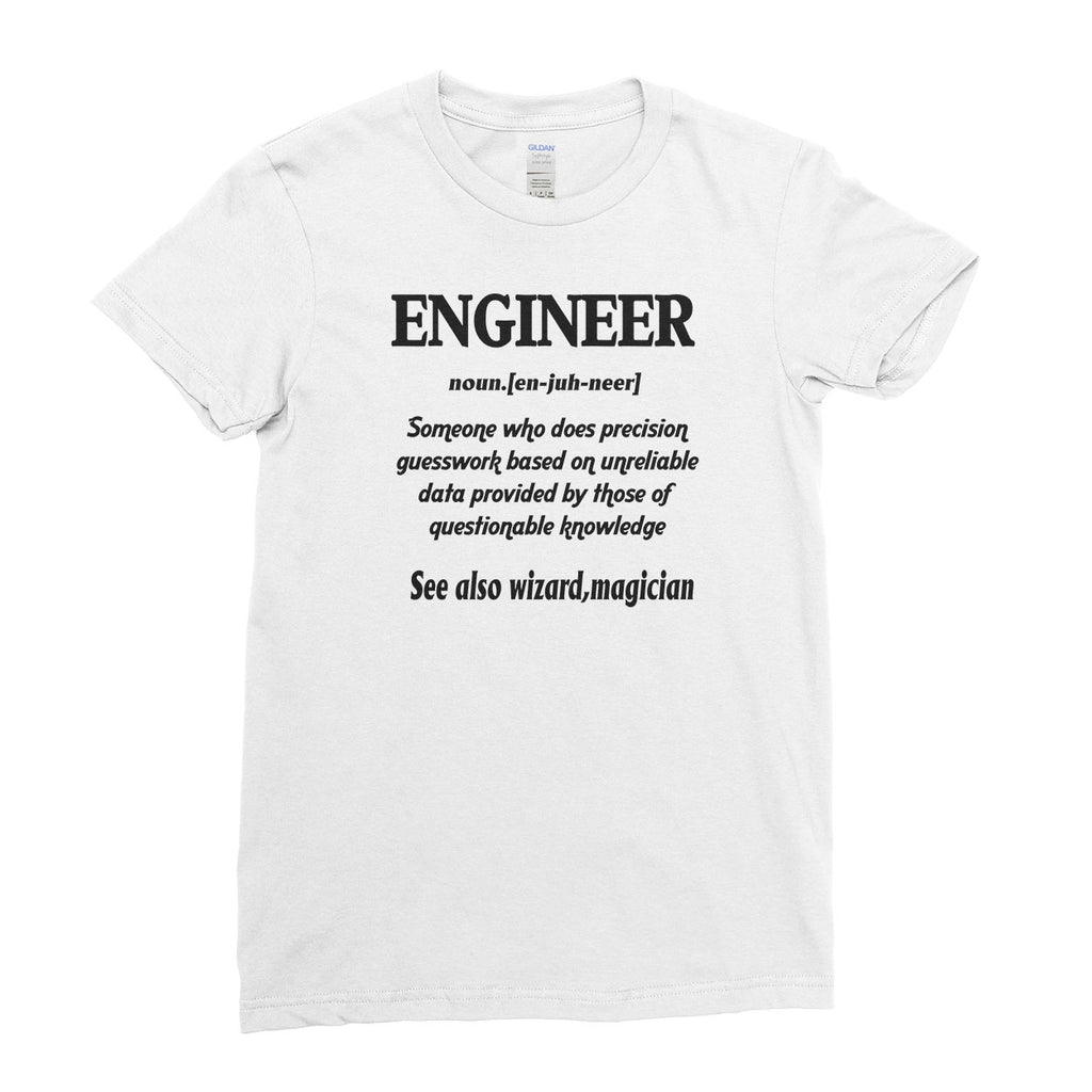 Engineer Defined T-Shirt Engineering Cool Funny - T-shirt - Womens - Ai Printing