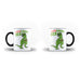 Fathers Day Birthday Papa Saurus Rex Gift for Dad - Unique Mug - Magic Set - Ai Printing