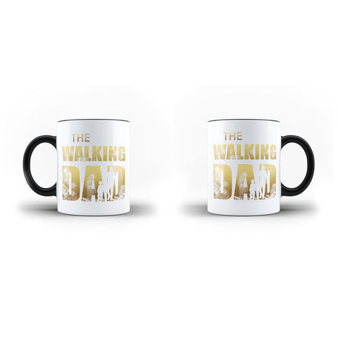 Fathers Day Birthday The Walking Dad Lovely Gift - Unique Mug - Magic Set - Ai Printing