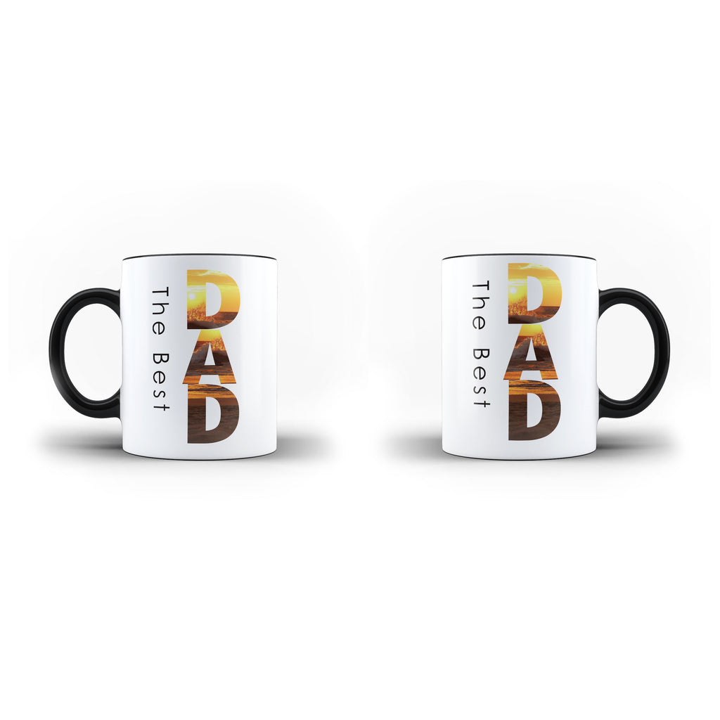 Fathers Day Birthday The Best Dad Lovely - Unique Mug - Magic Set - Ai Printing