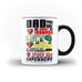 Fathers Day Birthday Gift Dad is My Superhero - Unique Mug - Magic Set - Ai Printing