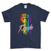 Love Is Love Be Proud LGBT Gay Pride Rainbow Cool Funny - T-shirt - Mens - Ai Printing