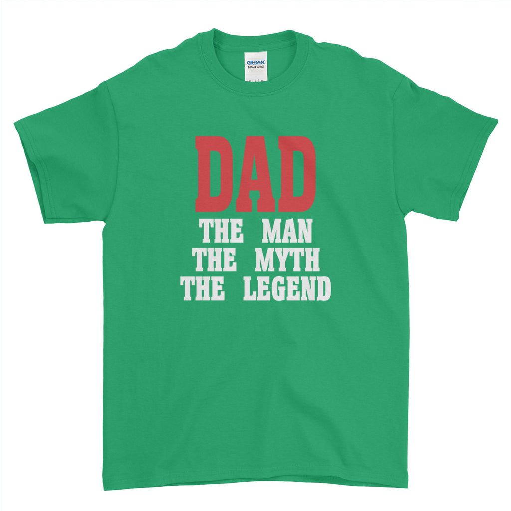 c871f93d ... Fathers Day Birthday Gift Papa The Man Myth Legend Lovely gift - T-shirt  ...