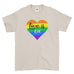 Love Is Love Be Proud LGBT Gay Pride Rainbow Awesome Funny Cool - T-shirt - Mens - Ai Printing