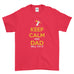 Father's Day T-Shirt Birthday Gift Keep calm and Dad will fix It - T-shirt - Mens - Ai Printing