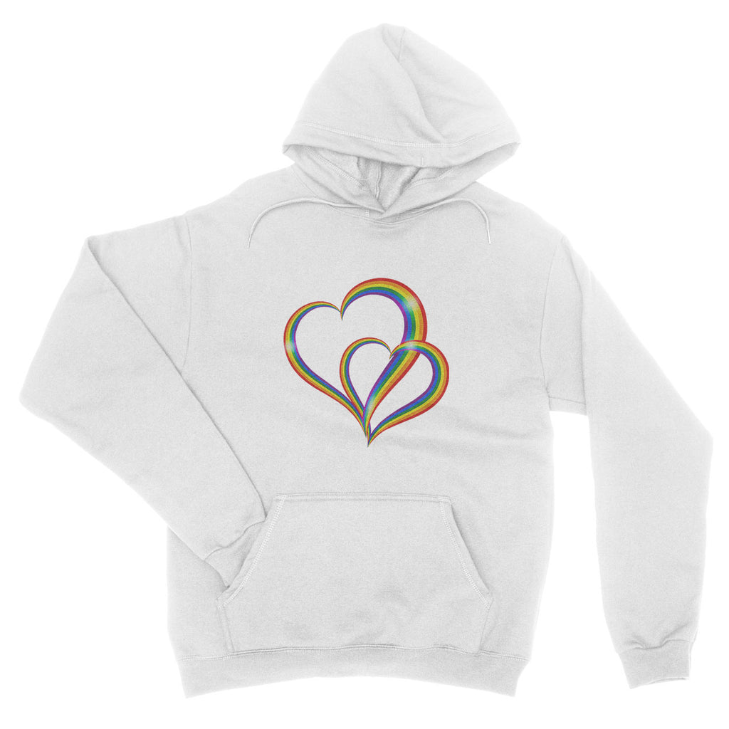 Love Is Love Be Proud LGBT Gay Pride Rainbow Festival - Hoodie - Unisex - Ai Printing