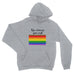 Kiss whoever you want LGBT Gay Pride Lesbian Rainbow - Hoodie - Unisex - Ai Printing