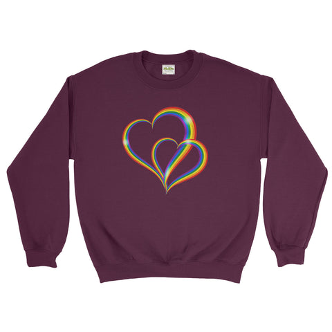 Love Is Love Be Proud LGBT Gay Pride Rainbow Festival - Sweater - Mens - Ai Printing