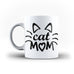 Mom Mother's Day Mommy Best Awesome Funny Cool Gift- Unique Mug - White Set - Ai Printing