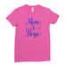 World Mom of Boys Mother's Day Best Awesome Funny Gift - Unique Mug T-shirt Top Tee - Ai Printing