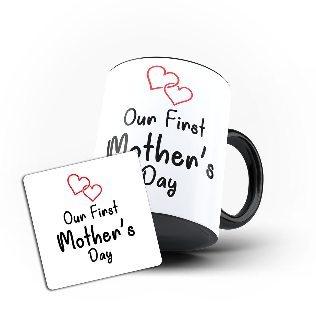 Our First Mothers Day Mom Mothers Day gift- Unique Mug - Magic Set - Ai Printing
