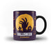 Happy Halloween Scary - Unique Mug - White Magic Mug - Ai Printing