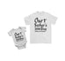 Personalised Baby Bodysuit and T-Shirt For Daddy - Father's Day Special - Ai Printing