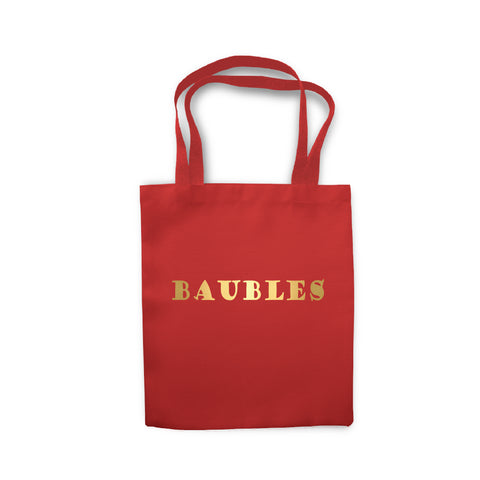 Baubles Storage - Tote Bag - Ai Printing