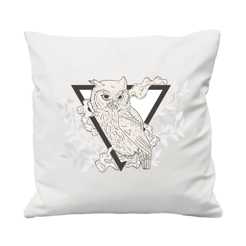 Owl Triangle - Cushion Cover - 41 x 41 cm - Ai Printing